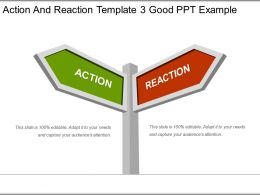 Action And Reaction Template 3 Good Ppt Example