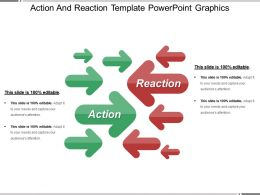Action And Reaction Template Powerpoint Graphics