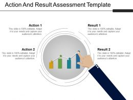 Action And Result Assessment Template 1 Powerpoint Slides