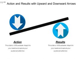Action And Results With Upward And Downward Arrows