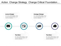 Action Change Strategy Change Critical Foundation Continual Improvement