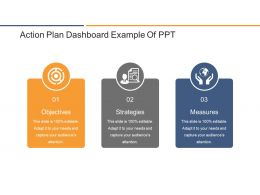 Action Plan Dashboard Example Of Ppt