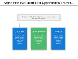 Action Plan Evaluation Plan Opportunities Threats Return Investment