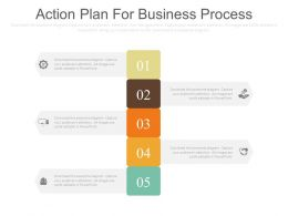 Action Plan For Business Process Ppt Slides