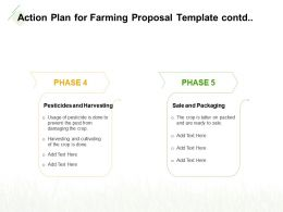Action Plan For Farming Proposal Template Contd Ppt Powerpoint Templates