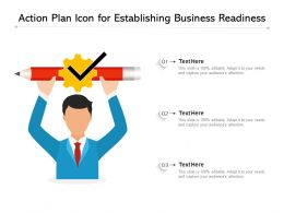 Action Plan Icon For Establishing Business Readiness