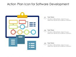 Action Plan Icon For Software Development