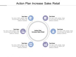 Action Plan Increase Sales Retail Ppt Powerpoint Presentation Model Pictures Cpb