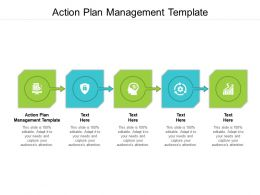 Action Plan Management Template Ppt Powerpoint Presentation Infographic Template Graphics Cpb