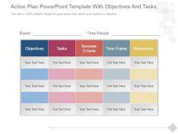 action_plan_powerpoint_template_with_objectives_and_tasks_Slide01