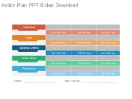 Action Plan Ppt Slides Download