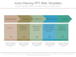 Action Planning Ppt Slide Templates