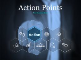 Action Point Ppt Summary Infographic Template Business Analytics