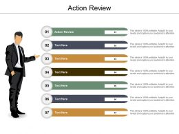 Action Review Ppt Powerpoint Presentation Icon Deck Cpb