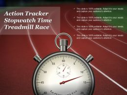 Action Tracker Stopwatch Time Treadmill Race