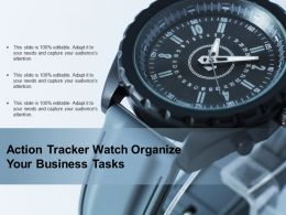 Action Tracker Watch Organize Your Business Tasks