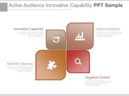 Active Audience Innovative Capability Ppt Sample