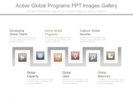 Active Global Programs Ppt Images Gallery