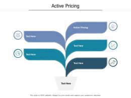 Active Pricing Ppt Powerpoint Presentation Icon Themes Cpb