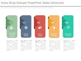Active Study Example Powerpoint Slides Influencers