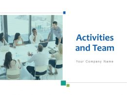 Activities And Team Marketing Manufacturing Management Treasury Finance