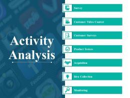Activity Analysis Example Of Ppt Presentation