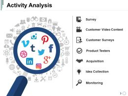 Activity Analysis Powerpoint Slide Templates