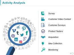 Activity Analysis Powerpoint Slide Themes