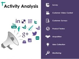 Activity Analysis Ppt Design Ideas