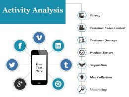 Activity Analysis Ppt File Ideas