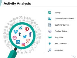 Activity Analysis Ppt Summary Maker