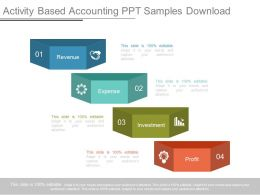 Activity Based Accounting Ppt Samples Download