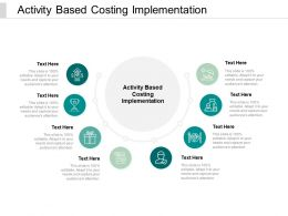 Activity Based Costing Implementation Ppt Powerpoint Presentation Inspiration Clipart Cpb