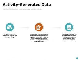 Activity Generated Data Storage Ppt Powerpoint Presentation Professional Graphics