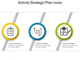 Activity Strategic Plan Icons