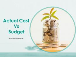 Actual Cost Vs Budget Powerpoint Presentation Slides