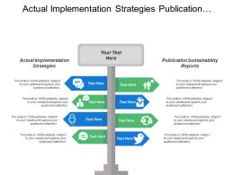 Actual Implementation Strategies Publication Sustainability Reports Executive Summary