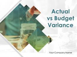 Actual Vs Budget Variance Powerpoint Presentation Slides