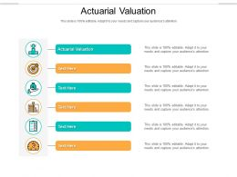 Actuarial Valuation Ppt Powerpoint Presentation Gallery Example File Cpb