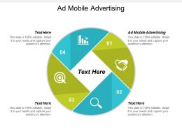 Ad Mobile Advertising Ppt Powerpoint Presentation Ideas Demonstration Cpb
