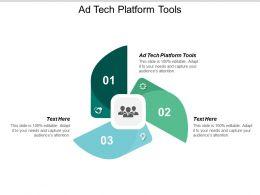 Ad Tech Platform Tools Ppt Powerpoint Presentation Diagram Graph Charts Cpb
