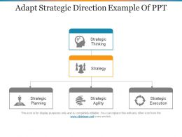 Adapt Strategic Direction Example Of Ppt