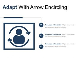 Adapt With Arrow Encircling