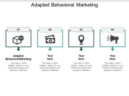 Adapted Behavioral Marketing Ppt Powerpoint Presentation Styles Picture Cpb