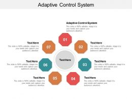 Adaptive Control System Ppt Powerpoint Presentation File Examples Cpb