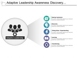 Adaptive Leadership Awareness Discovery Experimenting Learning Transforming