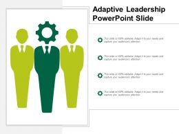 Adaptive Leadership Powerpoint Slide