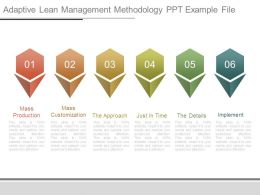 Adaptive Lean Management Methodology Ppt Example File
