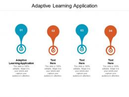 Adaptive Learning Application Ppt Powerpoint Presentation Slides Example Introduction Cpb