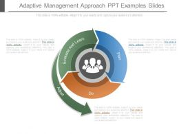 Adaptive Management Approach Ppt Examples Slides